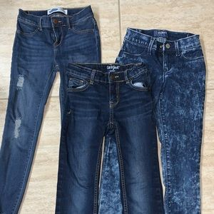 Lot of girls size 8 jeans